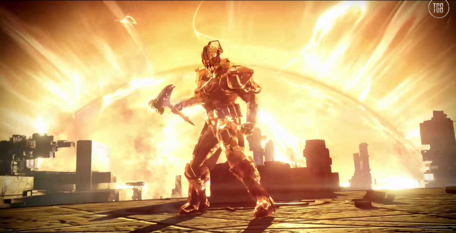 Destiny the taken king new subclasses sunbreaker stormcaller nightstalker - Warlock stormcaller ...